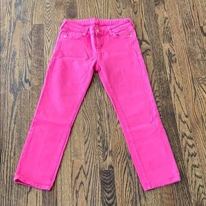 Kate Spade Perry Street Jeans Pink Size 27